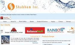 Screenshot of Shubham Inc