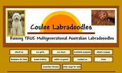 Screenshot of Coulee Labradoodles