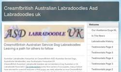 Screenshot of ASD Labradoodles UK