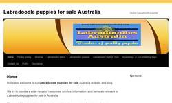 Screenshot of Labradoodles dogs puppies breeders NSW