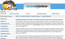 Screenshot of scamreview