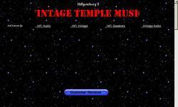 Screenshot of Vintage Temple Music