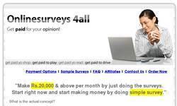Screenshot of onlinesurveys4all.com
