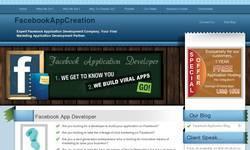 Screenshot of Facebook Application Development Services, Facebook Application Development Comp