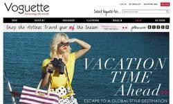 Screenshot of Voguette.com - Affordable Unique Designer Clothes, Bags, Jewelry, Accessories