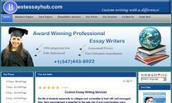 Screenshot of Essay writing services