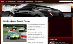 Screenshot of Hot Cars wallpapers Latest Sports Cars and Vehicles Best and Used Cars and Cars