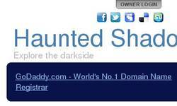 Screenshot of Hauntedshadow.com - The truth is around you