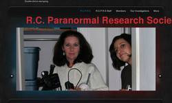 Screenshot of R.C. Paranormal Research Society