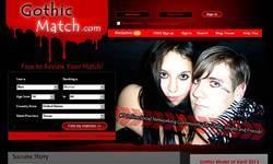 Screenshot of Gothicmatch