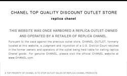 Screenshot of Chanel flats, Chanel outlet, Chanel Shop Online, Ferragamo outlet