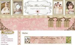 Screenshot of Petite Fleur Designs
