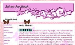 Screenshot of Guinea Pig Magik