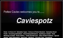Screenshot of caviespotz