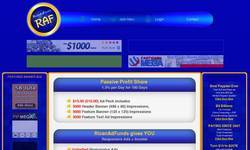 Screenshot of Rican Ad Funds