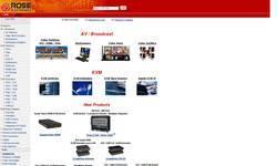 Screenshot of rose.com