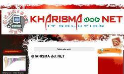 Screenshot of www.kharismadotnet.blogspot.com