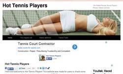 Screenshot of Hot Tennis Players