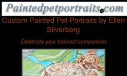 Screenshot of Custom Painted Pet Portraits