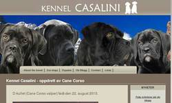Screenshot of Cane Corso Bella's page