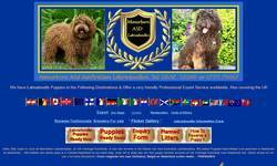 Screenshot of Manorborn Pure Australian Miniature Labradoodles 100% Asd