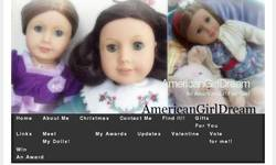 Screenshot of AmericanGirlDream