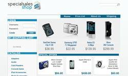Screenshot of specialsalesshop.com