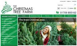 Screenshot of hechristmastreefarm