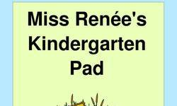 Screenshot of Miss Renee's Kindergarten Pad