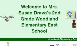 Screenshot of Mrs. Susan Dravo's 2nd Grade