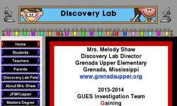 Screenshot of The Discovery Lab