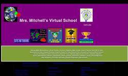 Screenshot of Mrs. Mitchell's Virtual School