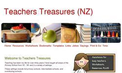 Screenshot of Teachers Treasures