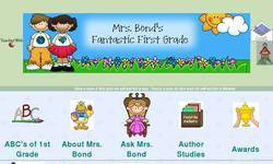 Screenshot of Mrs. Bond's Fantastic First Grade
