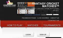 Screenshot of www.cricketinc.com