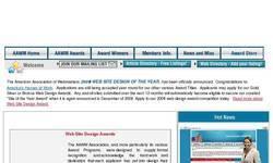 Screenshot of American Association Of Webmasters