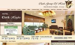 Screenshot of Luxury hotels in new delhi , india tourism