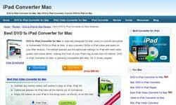Screenshot of DVD to iPad converter for mac[