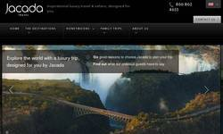 Screenshot of jcadatravel