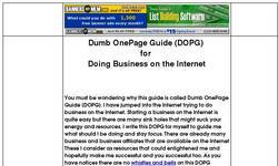 Screenshot of Dumb One Page Guide (DOPG)