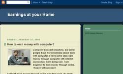 Screenshot of earnmoney computer