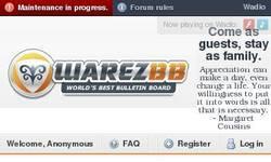 Screenshot of Warez-BB