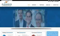 Screenshot of web Development Hyderabd|web Designing Hyderabad|plexasysHyderabad|web designers
