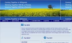 Screenshot of D2e Solutions