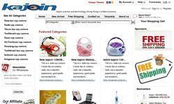 Screenshot of kajoin science and technology (Hong Kong) Limited company