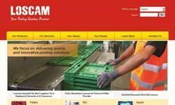 Screenshot of Loscam