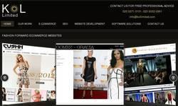 Screenshot of Website design UK