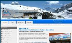 Screenshot of Nepal Trekking Company, Best Agency