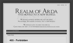 Screenshot of Realm of Arda