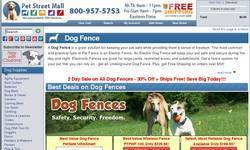 Screenshot of Electric Dog Fence � Save on an Electric Dog Fence & a Pet Fence